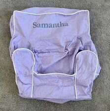 """POTTERY BARN KID My 1st Anywhere Chair Slipcover Lavender  """"Samantha""""  NEW"""