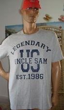 😊 ✈ UNCLE SAM T-Shirt ; grau ; Größe  M ; L ; XL od.  XXL 😊  ✈