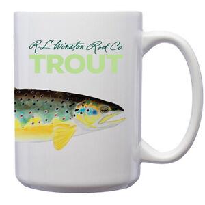 Winston Trout Mug - 15 oz - Free Shipping