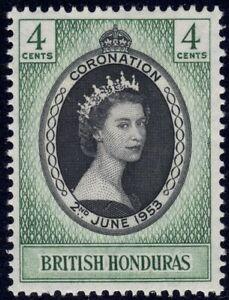 1953 British Honduras SC# 143 - Coronation Issue - M-H