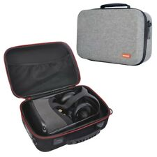 Hard Carrying case for Oculus Rift S PC-Powered VR Gaming Headset and Controllers Protective Storage Travel Box Gray