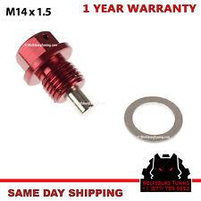 VW Audi Porsche M14 Magnetic Oil Drain Plug 2000 + Red