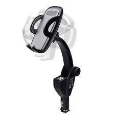 Autohalterung Halter für Handy Smartphone Halterung Ladegerät iPhone 8 X USB KFZ