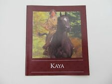American Girl Doll Kaya's  Pamphlet from Meet Outfit or TeePee  ~ Free Shipping