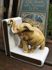 1960s Lefton china bookend single (1) African Elephant! Beautiful Cond~Library~