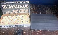 Pressman Rummikub Fast Moving Rummy Tile Game Vintage 1980
