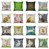 JU_ Cartoon Easter Rabbit Pillow Case Sofa Waist Throw Cushion Cover Decor Mys