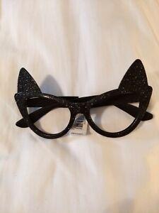 Halloween Novelty  Glitter Bat Wings Glasses