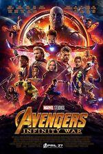 Avengers Infinity War - One Sheet Movie Poster 24x36 - 52709