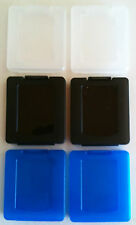 Brand New PS Vita Cartridge Protection Storage Cases Clear Blue and Black