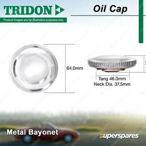 Tridon Oil Cap for Holden Astra LB LC LD Commodore VN VP VR VS VQ VT Statesman