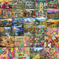5D DIY Diamond Painting Scenery View Cross Stitch Embroidery Mosaic Craft Decor