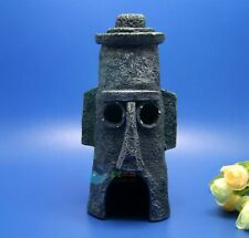 Squidward Home SpongeBob Easter Island House Penn Plax  Aquarium Ornament  AK718