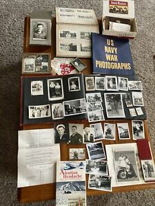 WW2 Lot of Pictures Letters Memorabilia Ephemera Veterans Story WWII