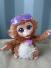 FurReal BABY Cuddles My Giggly Monkey Chimp Interactive 2013 Hasbro WORKS