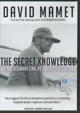 The Secret Knowledge by David Mamet (Audiobook, MP3-CD, 2011, Tantor)
