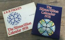 SILMARILLION TOLKIEN LORD OF THE RINGS CALENDAR VINTAGE 1978 THE HOBBIT