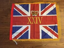 24th (The 2nd Warwickshire)regiment of foot Queens colours flag