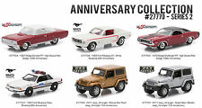 FORD DODGE JEEP ANNIVERSARY COLLECTION SERIES 2 SET 6 CARS 1/64 GREENLIGHT 27770