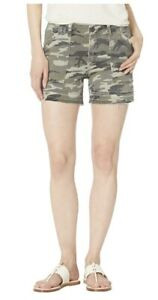 NWOT Kut from the Kloth Alice Camouflage Camo Shorts 14 Cutoff Utility Cargo
