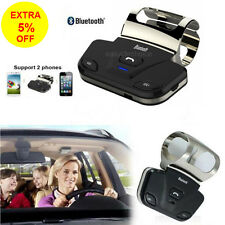 Wireless Bluetooth Handsfree Car Kit Speakerphone Speaker For iPhone Samsung LG