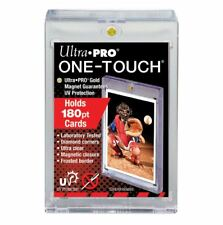 (6-Pack) Ultra Pro One Touch 180pt Super Thick Magnetic Trading Card Holder w UV