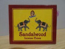 Sandalwood- Incense Cones  1 Box of 10  Kamini  Free Post AU