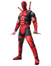 """Disfraz Deadpool DLX para hombre, estándar, Cintura Pecho 44"""", 30 - 34"""", 33"""" en costura"""