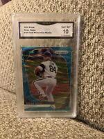Dylan Cease Rookie Teal Wave Refractor 2020 Prizm Graded 10 Chicago White Sox