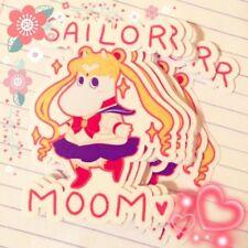 Sailor Moon Moomin Vinyl Sticker Decal / Cute Pink Kawaii Anime Manga Merch