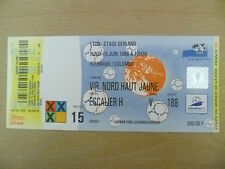 1998 World Cup Tickets Stubs- ROMANIA v COLOMBIA 15. June, Match- 15 (Org, Exc*)