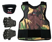 Chest Protector Combo Package, Paintball Maddog Padded - Camo - Small / Medium