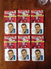 lot of 6 1950s Iron on Dick Clark Picture Patches. (REDUCED )