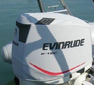 Evinrude Etec E-Tec engine cover 75-90 - GREY