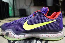 NEW Nike iD Kobe 10 X Elite SZ 12  Chaos Joker Glow In the Dark Purple