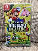 Nintendo Switch New Super Mario Bros U Deluxe from JAPAN