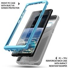 Poetic Revolution Blue Case Full-Body Rugged Heavy Duty For Galaxy Note 8