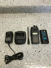 Kenwood Tk-3312 / Tk-3312-2 Uhf 450 -520 Mhz Portable Radio w/ Accessories