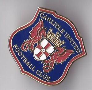 Carlisle United  - lapel badge No.3 brooch fitting