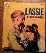 Lassie The Busy Morning 1973 Whitman Paperback