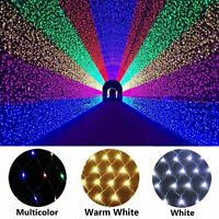 3M2M LED String Fairy Lights Net Mesh Curtain Wedding Party XMAS Tree Home Decor