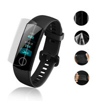 2 pcs For Huawei Honor Band 4 Watch Smart Bracelet Soft Screen Protector Film