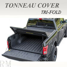 Premium Lock Tri-Fold Tonneau Cover Fit 2004-2017 FORD F150 5.5ft/66in Short Bed