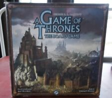 A GAME OF THRONES The Board Game 2nd Edition COMPLETE