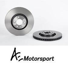 Brembo Front Brake Discs Pair for Vauxhall Astra MK5 H VXR Genuine OPC 321mm