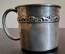 Vintage Reed & Barton X827 Sterling Silver Infant Baby Cup