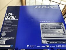 Alpine IVA-D300 DVD/CD/MP3/WMA Car Radio Stereo with retractable 7