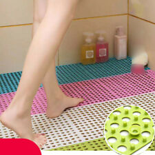 BATH SHOWER MAT NON SLIP PVC BATHROOM RUBBER MATS ANTI SLIP SUCTION 30*30cm