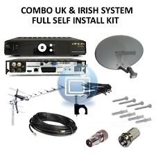 UK & Irish Combo HD Ariva 153 Kit - Satellite & Terrestrial - Saorview & Freesat