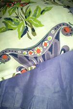 New 3pc Sferra Montmartre Duvet Cover Sham - aubergine queen